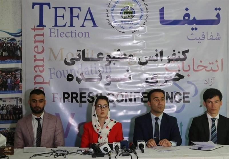 افغانستان، بنیاد تیفا: فهرست رای دهندگان در 88 مرکز اخذ رای مطابقت ندارد