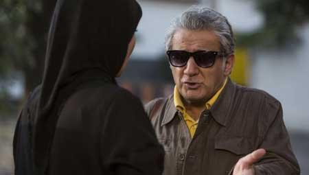 مهدی هاشمی و نسرین مقانلو در کامیون