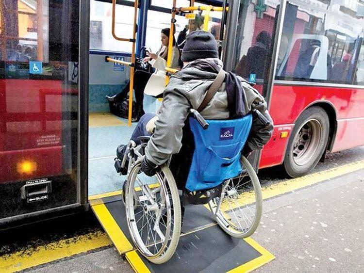 قم دارای اتوبوس های درون شهری ویلچر رو شد