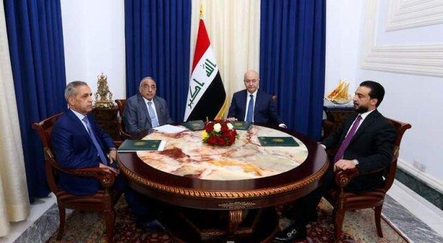 مخالفت رهبران سه گانه عراق با حل امنیتی تظاهرات و تاکید بر شروع مقدمات اصلاح قانون انتخابات