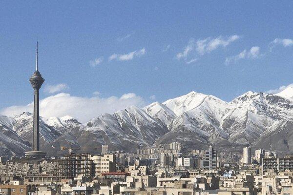باد و بارش هوای تهران را سالم کرد