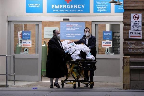 فرماندار نیویورک از کاهش پذیرش بیماران در بیمارستانها اطلاع داد