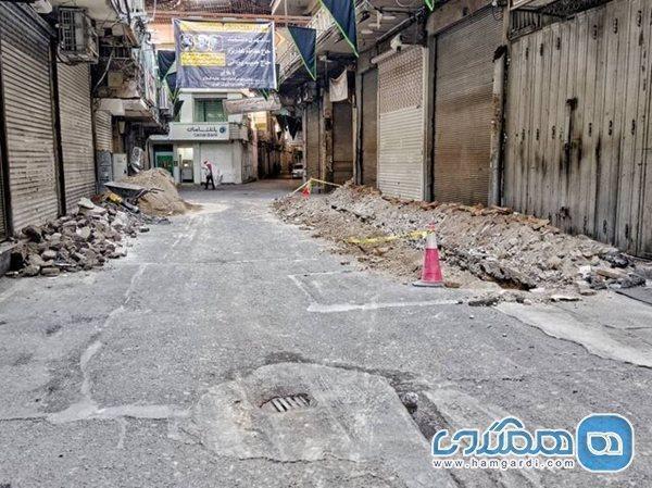 نکته ای پیرامون تخریب ها در بازار تهران