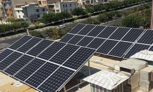 اجرای طرح هر پشت بام یک نیروگاه خورشیدی برای مشترکان پرمصرف