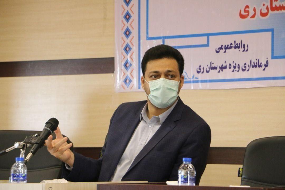 خبرنگاران فرماندار ری: رعایت پروتکل های بهداشتی نوعی حقوق شهروندی است