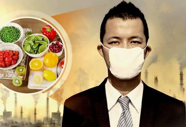 روزهایی که هوا آلوده است چی بخوریم ؟