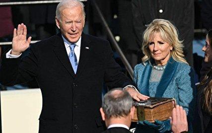 مراسم تحلیف جو بایدن رئیس جمهور جدید امریکا، بایدن: با جهان تعامل خواهیم کرد
