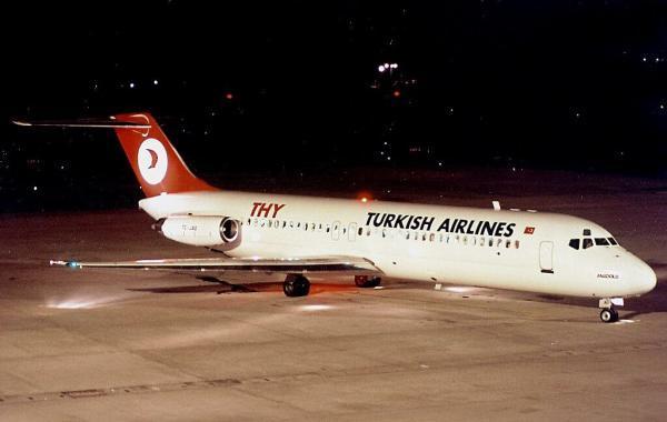 خبرنگاران پرواز ترکیش ایرلاین در فرودگاه امام نشست