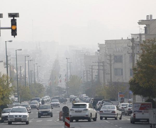 شاخص کیفیت هوای پایتخت امروز پنجشنبه 7 اسفند 99