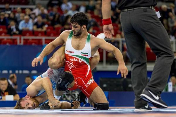 خبرنگاران یزدانی نفر نخست وزن 86 کیلوگرم رنکینگ المپیکی
