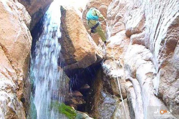 آبشارهای سیمک؛ جاذبه متفاوت کرمان، عکس