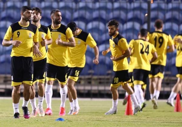 برگزاری تمرین شاداب ملی پوشان فوتبال در استادیوم النجمه منامه