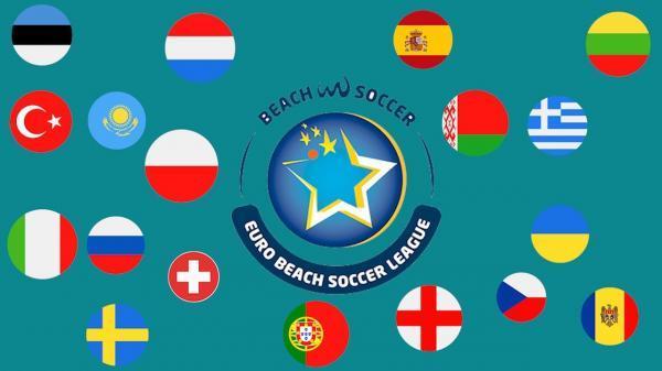 جدول مسابقات فوتبال ساحلی اروپا بعد از خاتمه رقابت های روز سوم