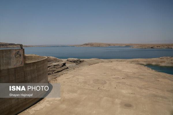 حدود 7 درصد مخازن سدهای خوزستان آب دارند ، دز در بدترین شرایط